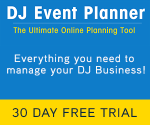 DJ Event Planner Banner